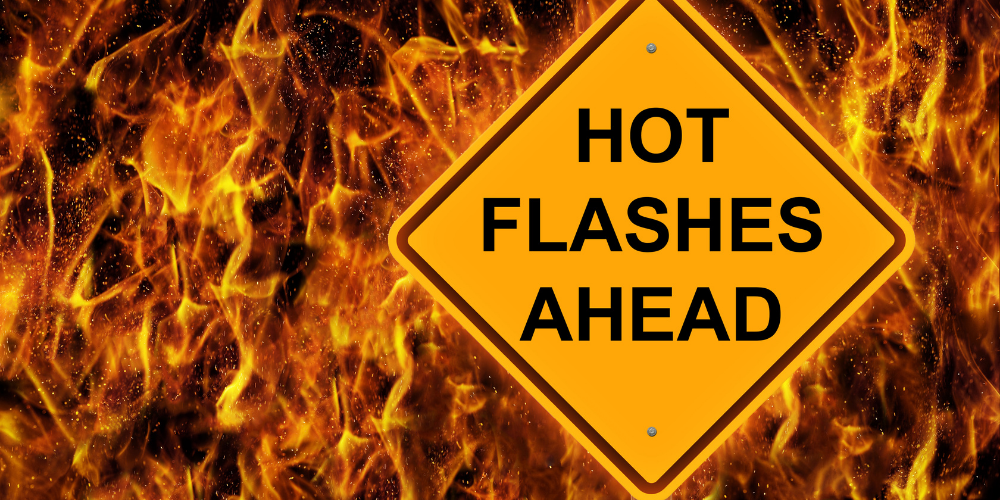 hot flashes menopause